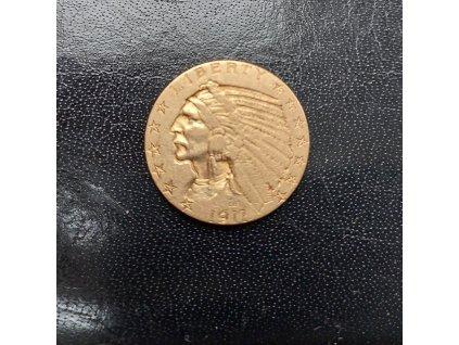 5 dollar1911-half eagle náčelník