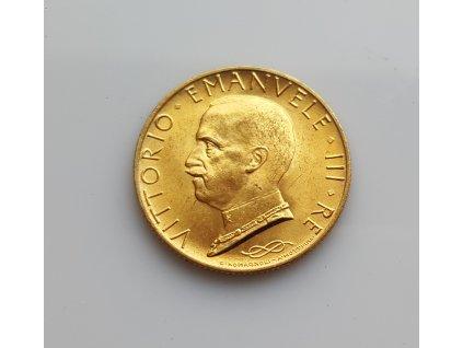 Zlatá 10  lira 1932