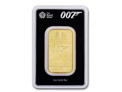 Investiční zlatá cihla James Bond 1 Oz