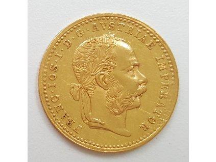 Zlatý Dukat František Josef I.  1886
