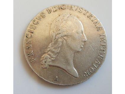 Stříbrný tolar František I. 1815 A