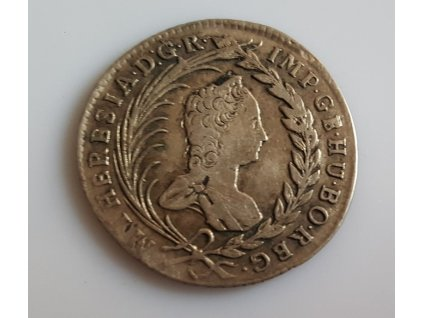 20 krejcar Marie Terezie 1863