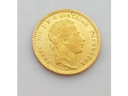 Zlatý dukát 1861 A