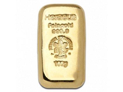 100g gold bar heraeus cast 4fc1dbf84c013e2e2b7eb737e0e30c20