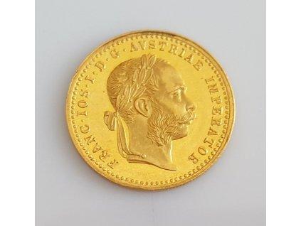 Zlatý Dukát Františka Josefa I.-1883
