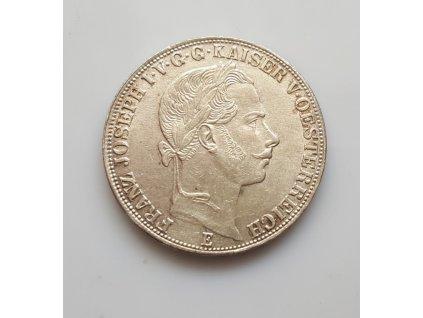 Stříbrný tolar František Josef I. 1865 E