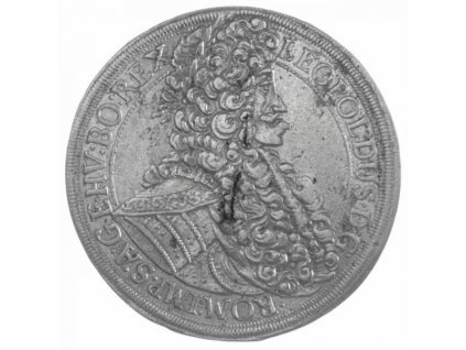 Stříbrný tolar L eopold I.1704