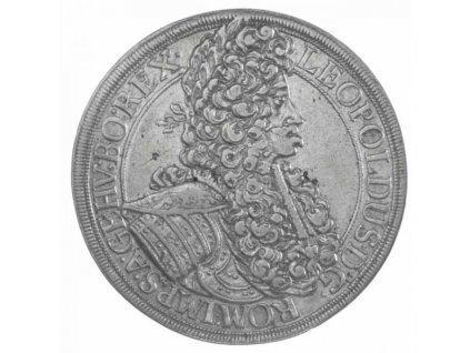 Stříbrný tolar Leopold I. 1698