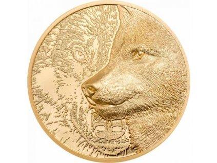 Zlatá mince Mystický vlk 1 Oz 2021