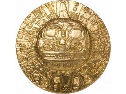 Stříbrná moderní mince Slunce Inků 2021 1 Oz