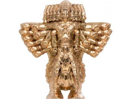 Stříbrná moderní mince Ravana- Král démonů 2021