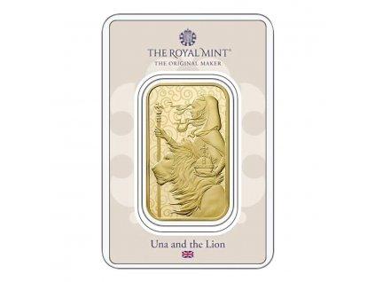 Investiční zlatá cihla Una a lev 1 Oz