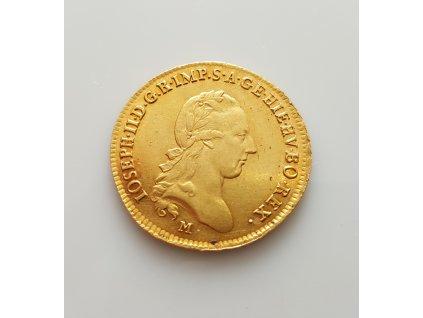 Zlaté 2 sovráno Josef II. 1786 M