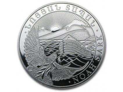 Investiční stříbrná mince Archa Noemova 10 Oz-2021