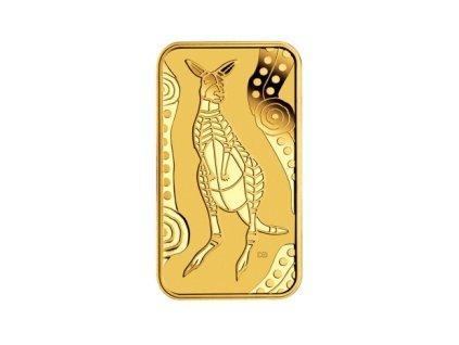 Investiční zlatý slitek   klokan 10g-kangaroo dreaming