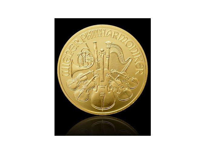 1892 investicni zlata mince philharmoniker 1 2 oz