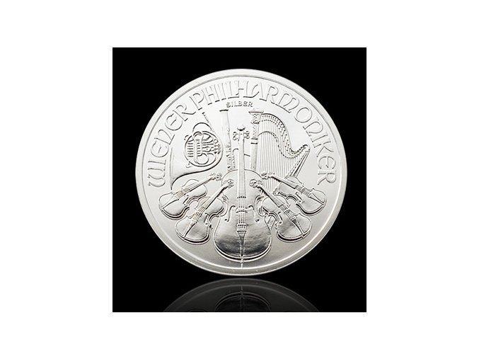 1898 investicni stribrna mince philharmoniker 1 oz