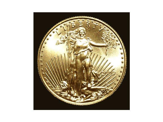 Investiční zlatá mince American Eagle 1/4 Oz
