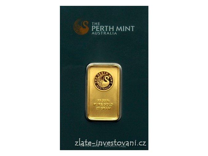 2027 investicni zlata cihla australsky klokan 20g