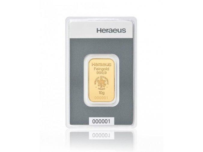 2036 investicni zlata cihla heraeus kinebar 10g