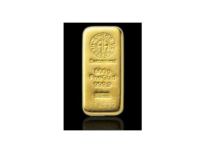 2051 investicni zlata cihla argor heraeus 500g