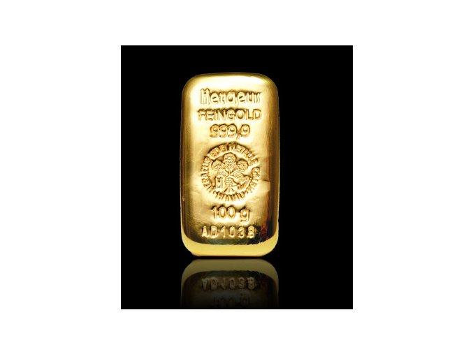 2069 investicni zlata cihla heraeus 250g