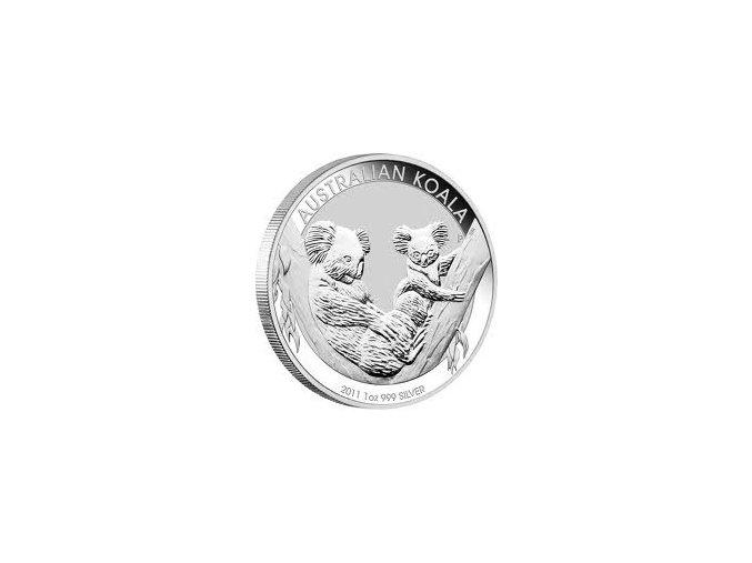 2093 investicni stribrna mince koala 2011 1 oz