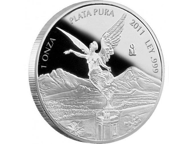 2099 investicni stribrna mince libertad 1 oz