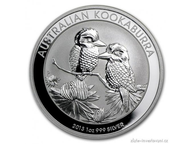 2126 investicni stribrna mince kookaburra 2013 1 oz