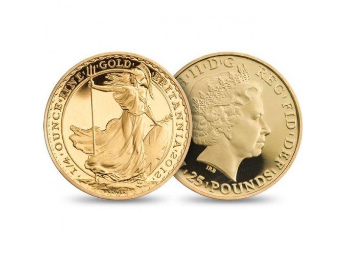 2192 investicni zlata mince britannia 1 4 oz