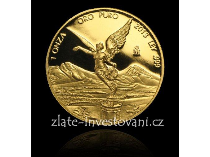2195 investicni zlata mince libertad mexiko 1 oz