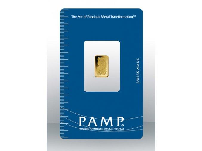 2198 investicni zlata cihla pamp fortuna 1g