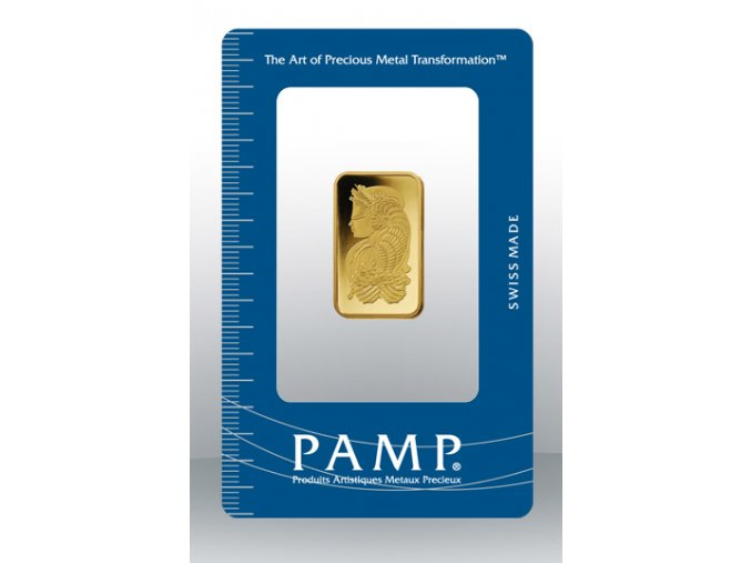 2207 investicni zlata cihla pamp fortuna 10g