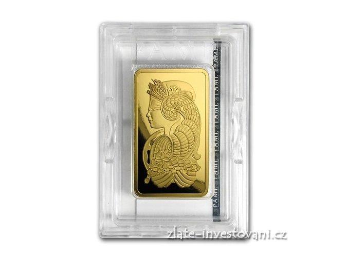 Investiční zlatý slitek PAMP Fortuna 5 Oz