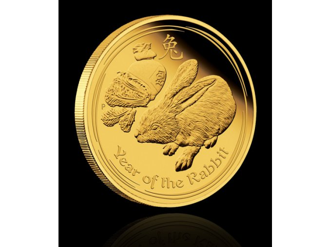 2234 investicni zlata mince rok kralika 2011 1 2 oz
