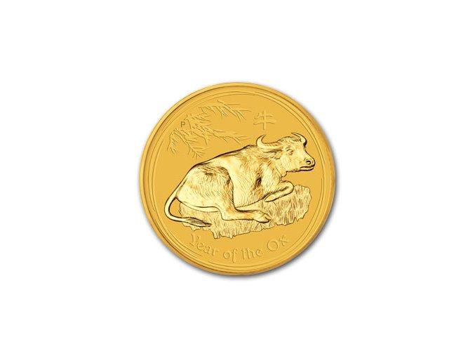 2336 investicni zlata mince rok buvola 2009 1 20 oz