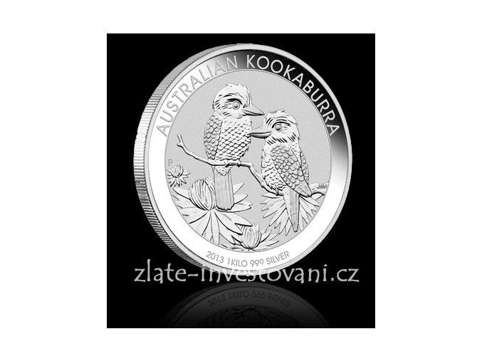 2405 investicni stribrna mince kookaburra 1992 2014 1 kg