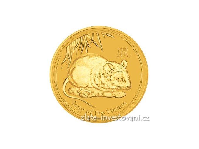 2411 investicni zlata mince rok krysy 2008 1000g