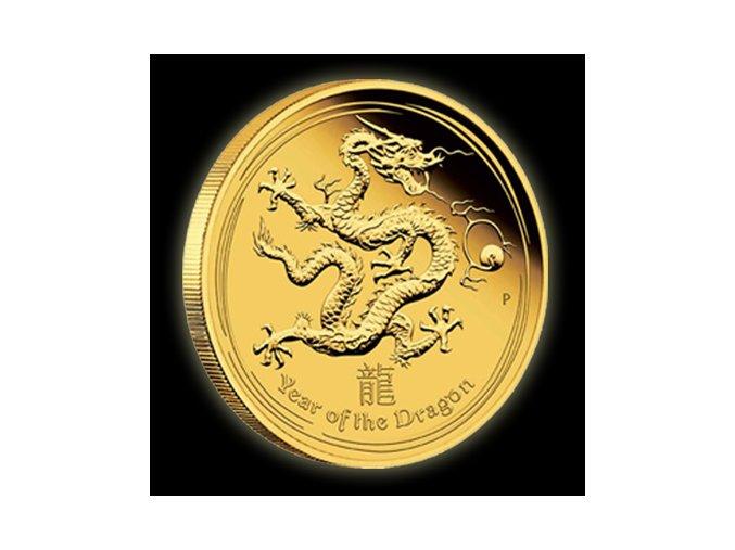 2453 investicni zlata mince rok draka 2012 1000g