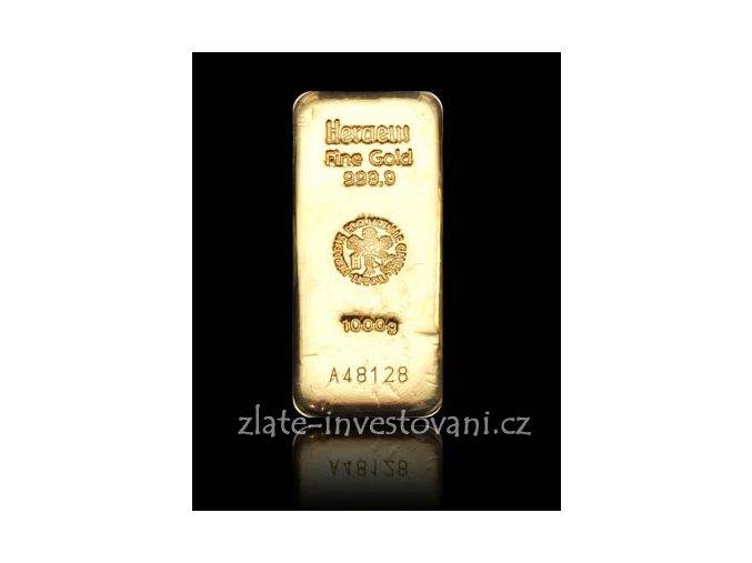 2504 investicni zlata cihla heraeus 1 kg