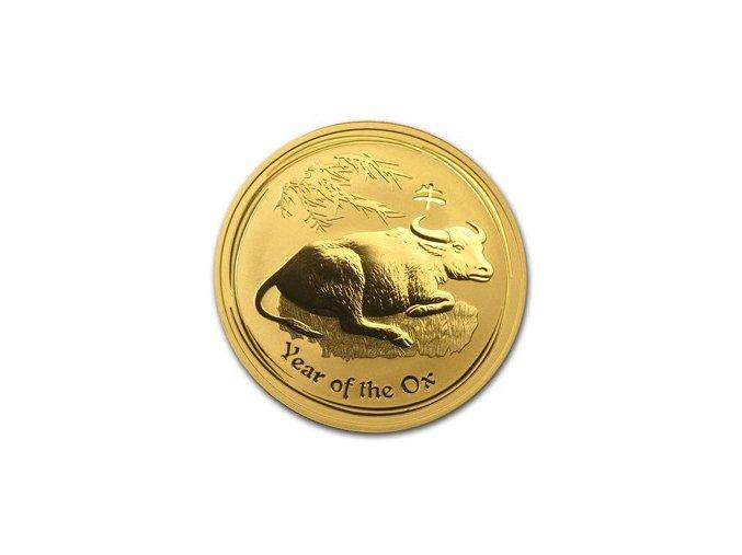 Investiční zlatá mince rok Buvola 2009 1Oz