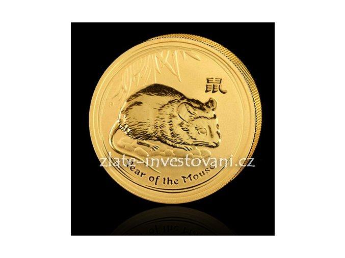 2549 investicni zlata mince rok krysy 2008 1 oz