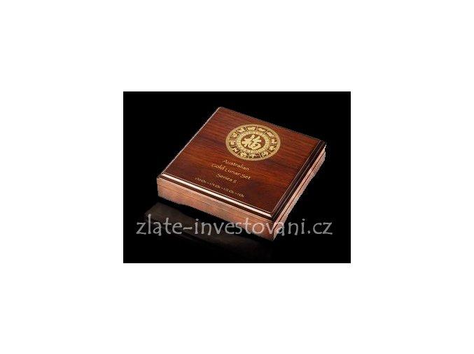 2579 darkova etuje na 12x 1 20 oz zlatych minci lunarniho kalendare ii