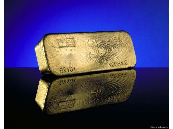 Investiční zlatý slitek 12.5kg Heraeus