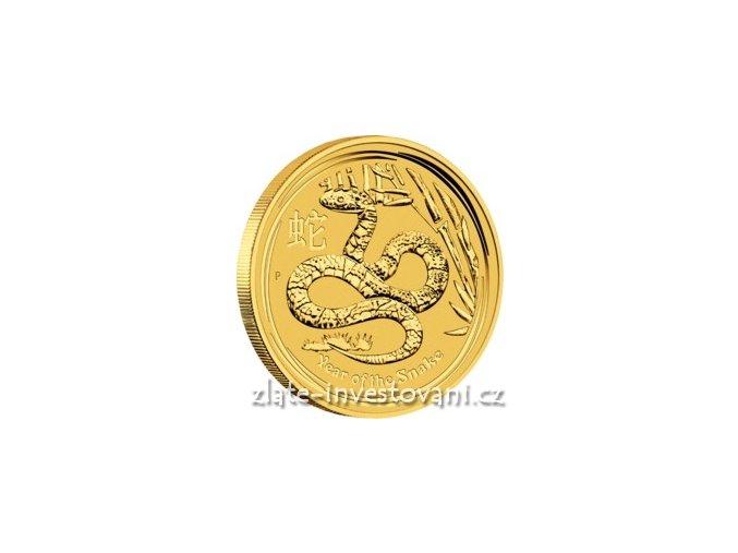 2801 investicni zlata mince rok hada 2013 2 oz