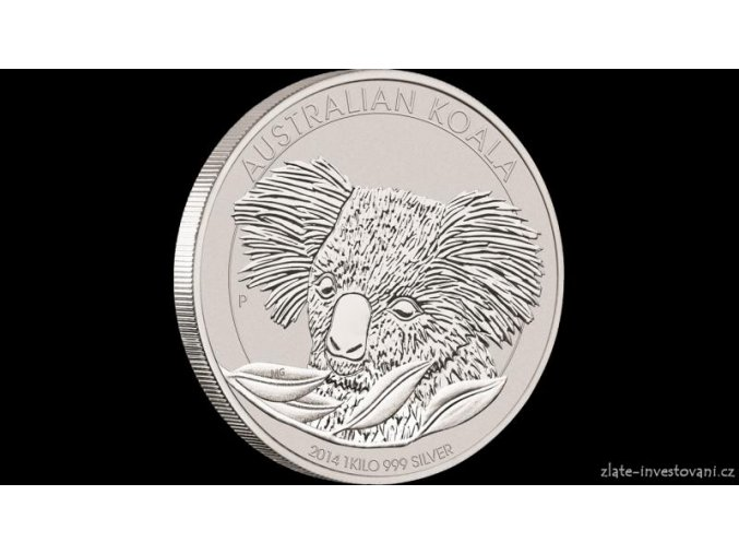 2894 investicni stribrna mince koala 2014 1 kg