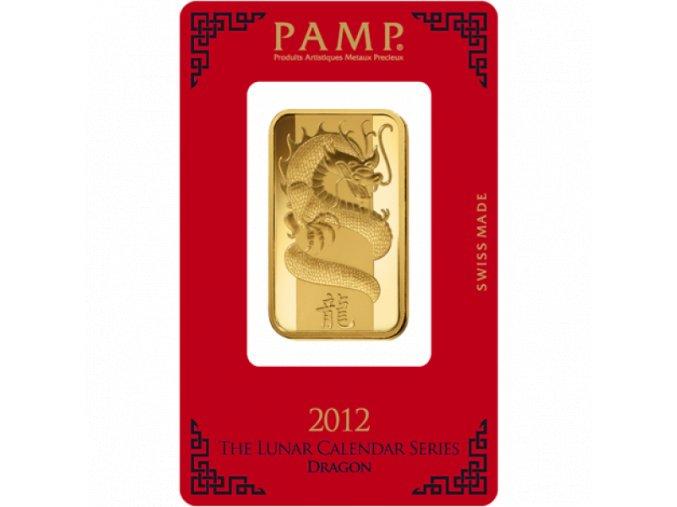 2939 investicni zlata cihla pamp rok draka 2012 1 oz
