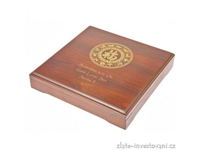 2942 darkova etuje na set zlatych minci 12x 1 2 oz lunarniho kalendare ii