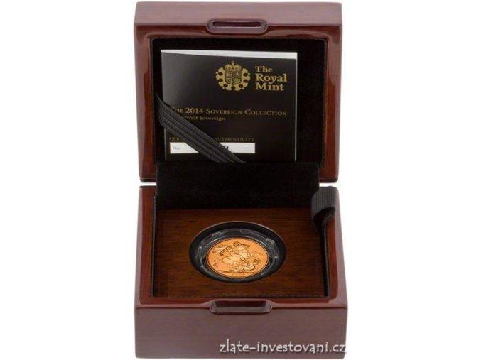 2966 zlaty sovereign proof