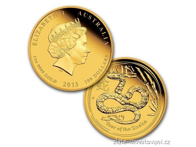 2984 set tri minci lunarniho kalendare rok hada 2013 proof